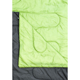 CAMPZ Surfer 400 Duo Sac de couchage, anthracite/green